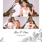 Evan and Hien's Wedding photo booth
