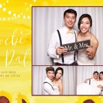 Phoebe and Dat wedding photo booth Melbourne