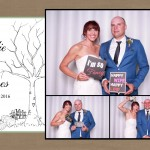 Jodies and James wedding VIP photo booth Melbourne