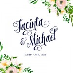 jacinta and Michael's wedding photo booth melbourne