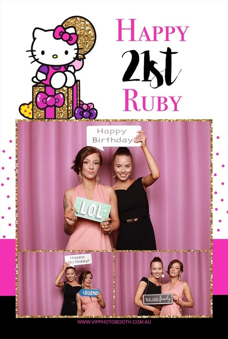 21st birthday photo booth melbourne