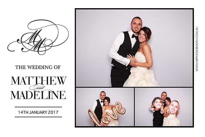 Wedding melbourne photo booth hire