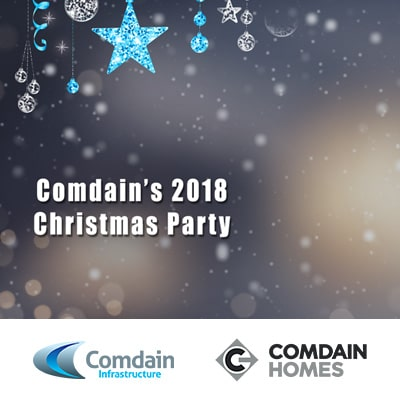 Comdain's Christmas party 2018