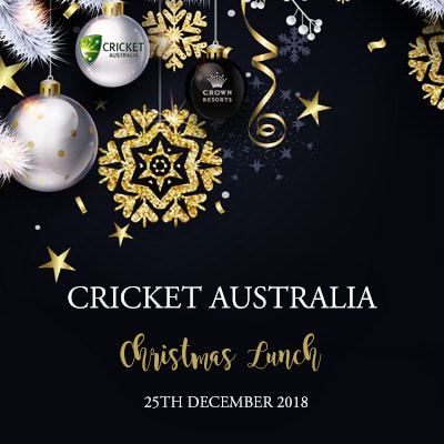 Cricket Australia Christmas 2018