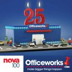 Officeworks birthday VIP photo booth