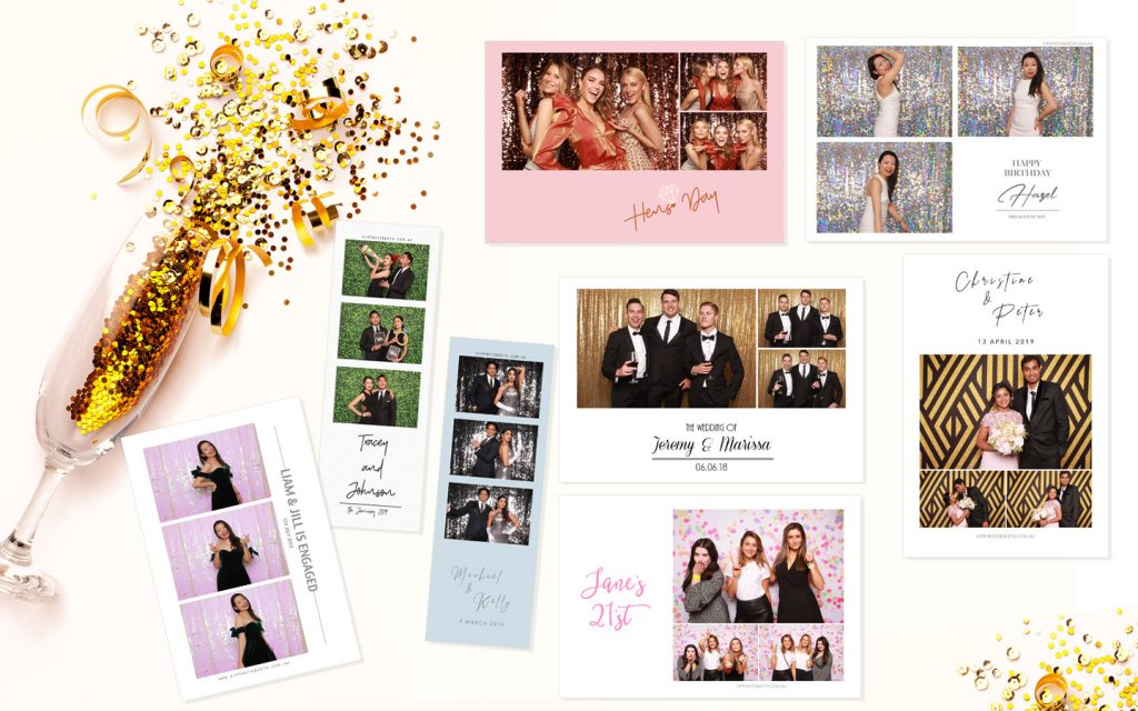 Simple and elegant photo booth designs