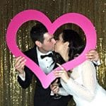 VIP Photo Booth wedding testimonial review from Julie & James
