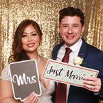 VIP Photo Booth wedding testimonial review from Mary-Jane & James